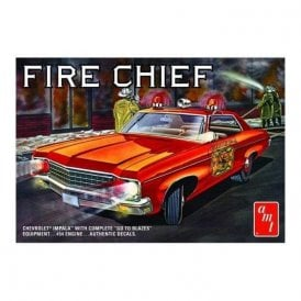 AMT 1:25 1970 Chevy Impala Fire Chief Model Kit