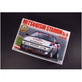 NUNU 1:24 Mitsubishi Starion STP Car Model Kit