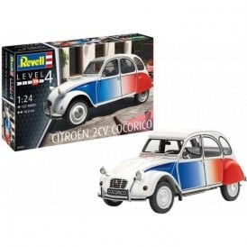 Revell 1:24 Citroen 2CV 'Cocorico' Car Model Kit