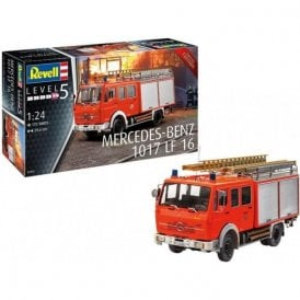 Revell 1:24 Mercedes-Benz 1017 LF 16 Gift Set Truck Model Kit