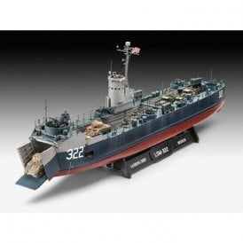 Revell 1:144 US Navy Landing Ship Medium (bofors 40mm gun) Model Ship Kit