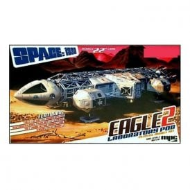 MPC (Slight Box Damage) 1:48 Space: 1999 Eagle Transporter II With Lab Pod Model Kit