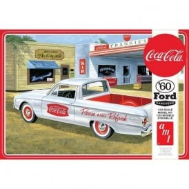 AMT 1:25 1960 Ford Ranchero w/Coke Chest Model Kit