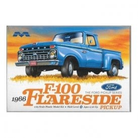 Moebius Models 1:25 1966 Ford F-100 Flareside Pickup Car Model Kit