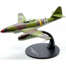 Atlas Editions 1:72 Messerschmitt ME 262 A-1A, Luftwaffe III/EJG 2 Richthofen, Red 13, Heinz Bar, 1945 Model Plane