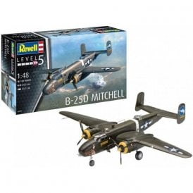 Revell 1:48 B-25C/D Mitchell Aircraft Model Kit