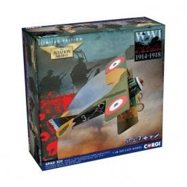 Corgi 1:48 Spad XIII 'White 3', Pierre Marinovitch, Escadrille Spa 94 'The Reapers', Youngest French Air Ace of WWI.