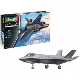 Revell 1:72 F-35A Lightning II Aircraft Model Kit