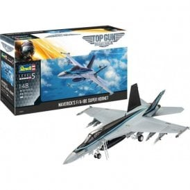 Revell 1:48 Top Gun Maverick's F/A-18E Super Hornet Aircraft Model Kit