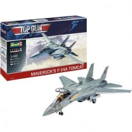 Revell 1:48 Top Gun Maverick's F-14A Tomcat Aircraft Model Kit