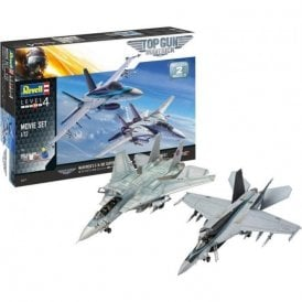 Revell 1:72 Top Gun Gift Set Aircraft Model Kit