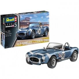 Revell 1:25 1962 Shelby Cobra 289 Car Model Kit