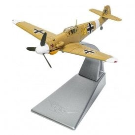 Corgi 1:72 Messerschmitt Bf109G-2 (Trop) 'Yellow 14', Hans Joachim Marseille, 3./JG27, Quotaifiya, Egypt, 30th September 1942