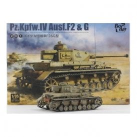 Border Models 1:35 Pz.Kpfw.IV Ausf. F2 & G Military Model Kit
