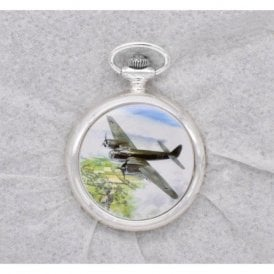 Atlas Editions Aces of the Air Pocket Watches - Moment in Time - Junkers Ju88, Kent, August 1940