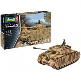 Revell 1:35 Panzer IV Ausf. H Military Model Kit
