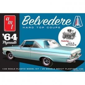 AMT 1:25 1964 Plymouth Belvedere w/Straight 6 Engine Model Kit