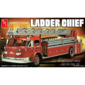AMT 1:25 American LaFrance Ladder Chief Fire Truck Model Kit