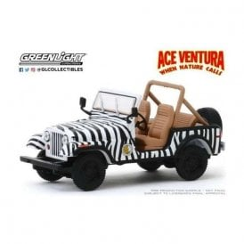 Greenlight 1:43 Ace Ventura: When Nature Calls 1995 - 1976 Jeep CJ-7 Diecast Car