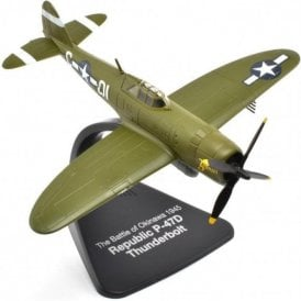 Atlas Editions 1:72 P-47D Thunderbolt 'Battle of Okinawa 1945' Model Plane
