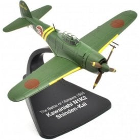 Atlas Editions 1:72 Kawanishi N1K2 Shinden-Kai ' Battle of Okinawa 1945 ' Model Plane