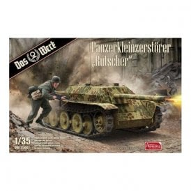 Das Werk 1:35 Panzerkleinzerstorer Rutscher Tank Destroyer Military Model Kit