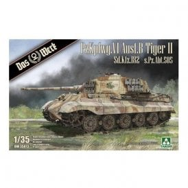 Das Werk 1:35 King Tiger Sd.Kfz.182 - s.Pz.Abt.505 with Zimmerit Tank Military Model Kit