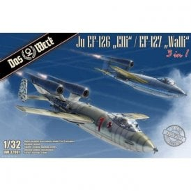 Das Werk 1:32 Junkers Ju EF-126 ' Elli ' / EF-127 ' Walli ' (3 in 1) Aircraft Model Kit