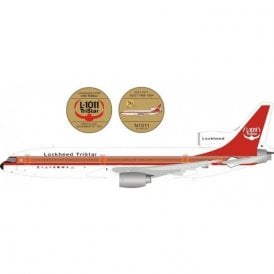InFlight 200 Lockheed L1011 Tristar - Reg N1011 - 1:200 Scale & 50th Anniversary Coin
