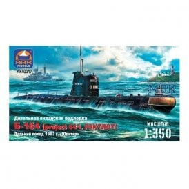 ARK Models 1:350 Submarine project 641 Planets Ship Resin Kit