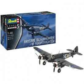Revell 1:48 Bristol Beaufighter IF Nightfighter Aircraft Model Kit