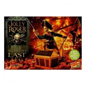 Linberg 1:12 Jolly Roger Series: The Freebooter's Last Leg Figure Kit