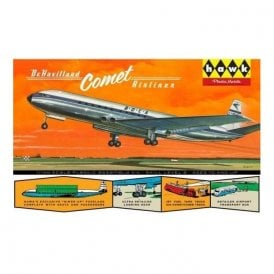 Linberg (HAWK) 1:144 DeHavilland Comet Jetliner Aircraft Model Kit