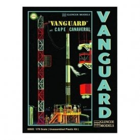 Glencoe 1:76 Vanguard Rocket & Gantry Rocket Model Kit