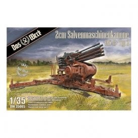 Das Werk 1:35 2cm Salvenmaschinenkanone SMK 18 - Typ 2 Military Model Kit
