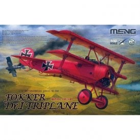 Meng Models 1:32 Fokker Dr.I Triplane (ex Wingnut Wings) Aircraft Model Kit