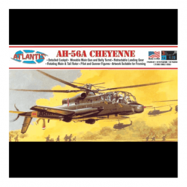 Atlantis Models 1:72 AH-56A Cheyenne Helicopter Model Kit