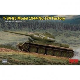 Rye Field Model 1:35 T-34/85 Model 1944 No. 174 Factory Military Model Kit