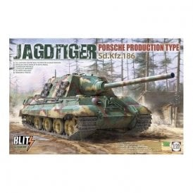Takom 1:35 Jagdtiger Porsche production Sd.Kfz.186 Model Military Kit