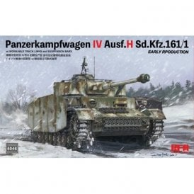 Rye Field Model 1:35 Panzer IV Ausf. H early Military Model Kit