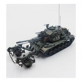 Precision Model Art 1:72 IDF M60A1 Blazer with KMT-4 Mine Roller Lebanon 1982