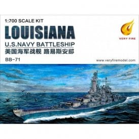 Very Fire 1:700 USS Louisiana US Navy Battleship Model Ship Kit