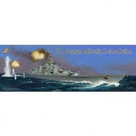 Very Fire 1:700 German Battleship H-Class Hutten Model Ship Kit