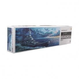 Very Fire 1:350 USS Missouri US Navy Battleship Model Ship Kit