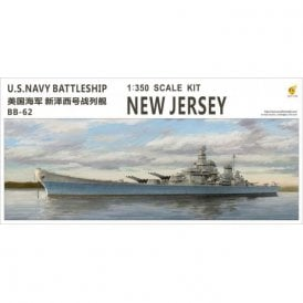 Very Fire 1:350 USS New Jersey US Navy BB-62 Battleship Model Ship Kit