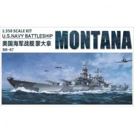 Very Fire 1:350 USS Montana US Navy BB-67 Battleship Model Ship Kit
