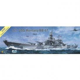 Very Fire 1:350 USS Montana US Navy BB-67 Battleship Deluxe Version Model Ship Kit