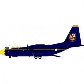 "InFlight 200 C-130J Hercules USMC ""Blue Angels"" 170000 - 1:200 Scale"