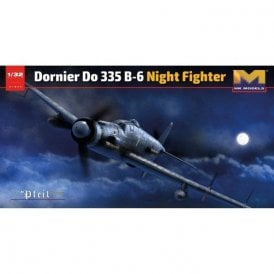 Hong Kong Models  1:32 Dornier Do 335 B-6 Night Fighter Aircraft Model Kit