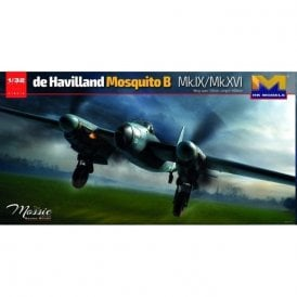 Hong Kong Models 1:32 de Havilland Mosquito B Mk.IX/Mk.XVI Aircraft Model Kit